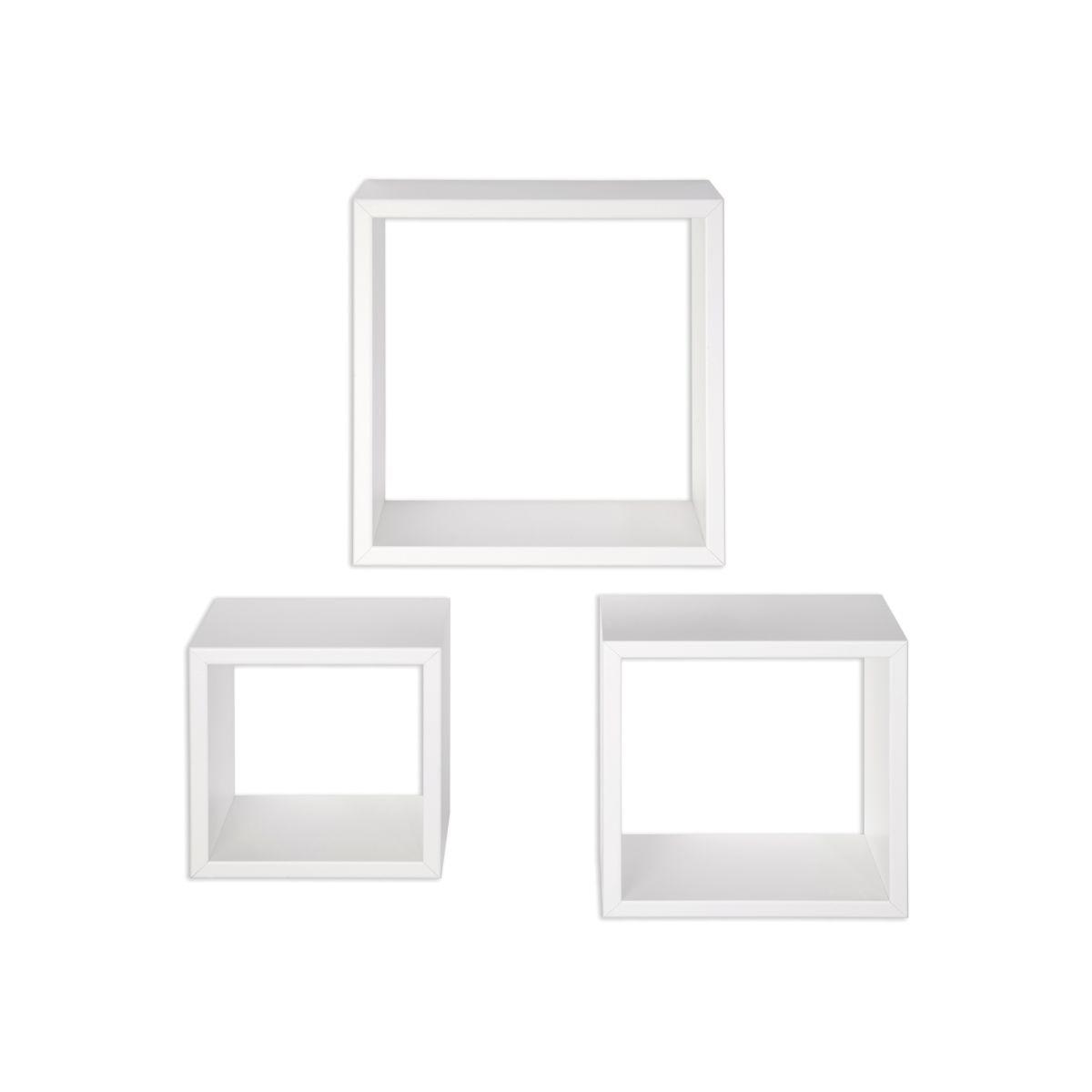 Kit 3 Mensole Bea Bianco 35 X 15,5 Cm: Prezzi E Offerte Online