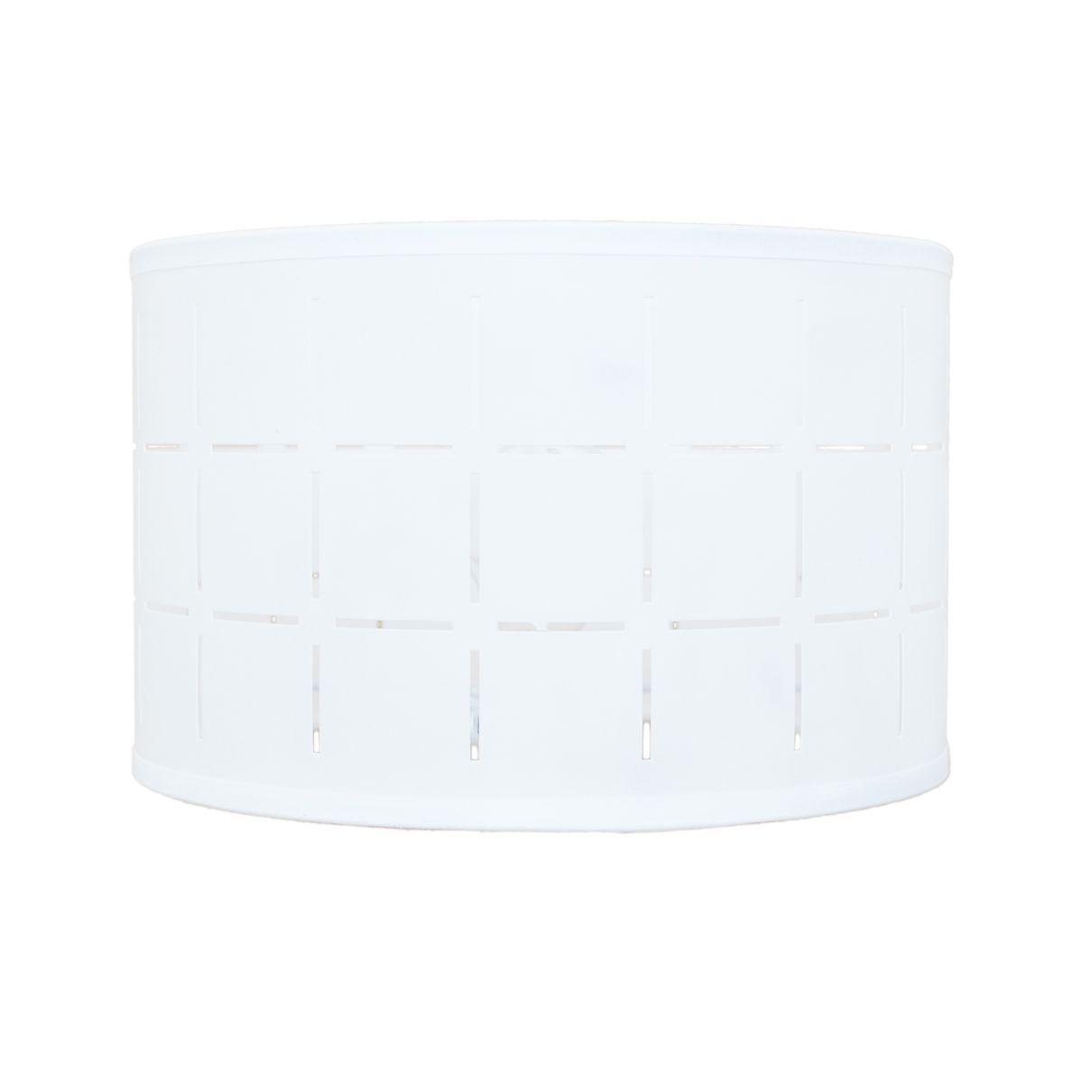 paralume per lampada da comodino personalizzabile cilindro bianco ... - Telai Per Paralumi Napoli