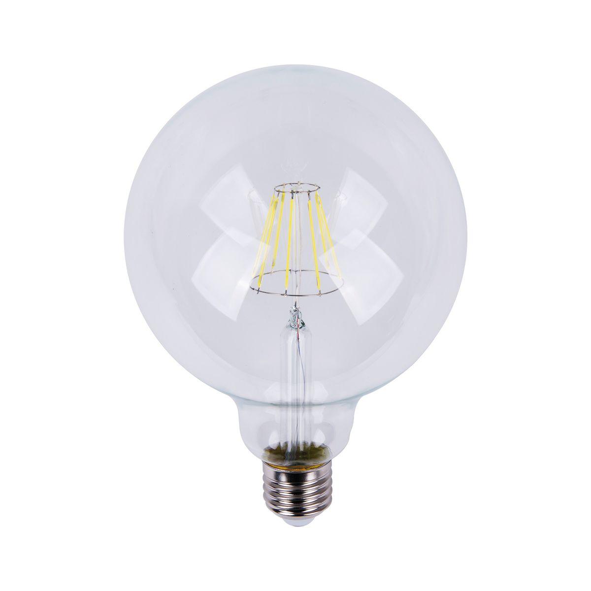 lampadina led lexman filamento e27 =75w globo luce fredda 360 ... - Cabina Armadio Luce Calda O Fredda