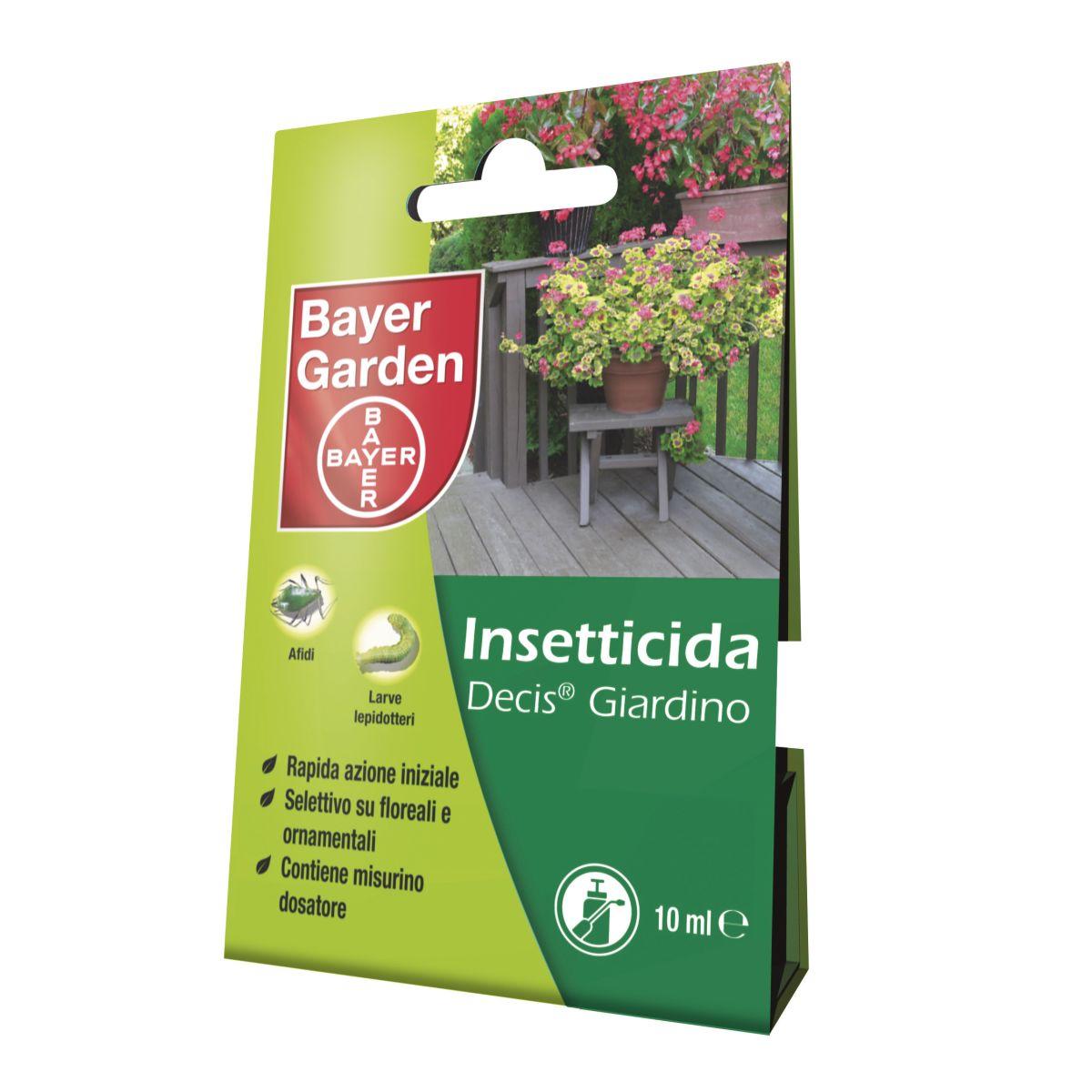 Insetticida decis giardino bayer 10 ml prezzi e offerte for Sdraio leroy merlin