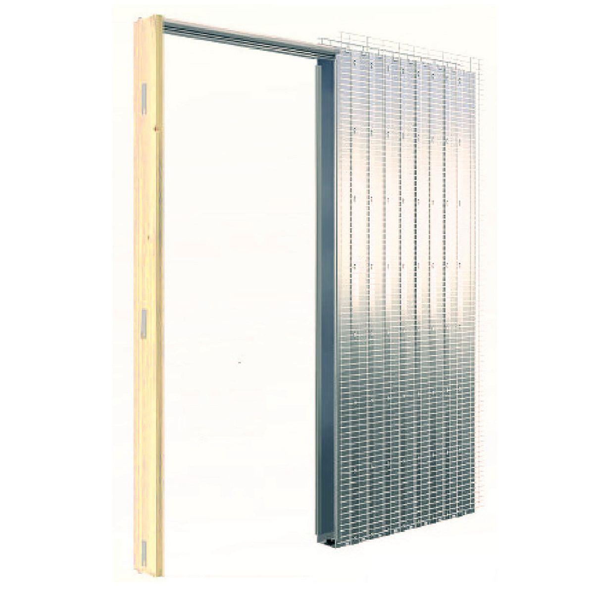 Controtelaio porta scorrevole per intonaco 80 x 210 cm: prezzi e ...