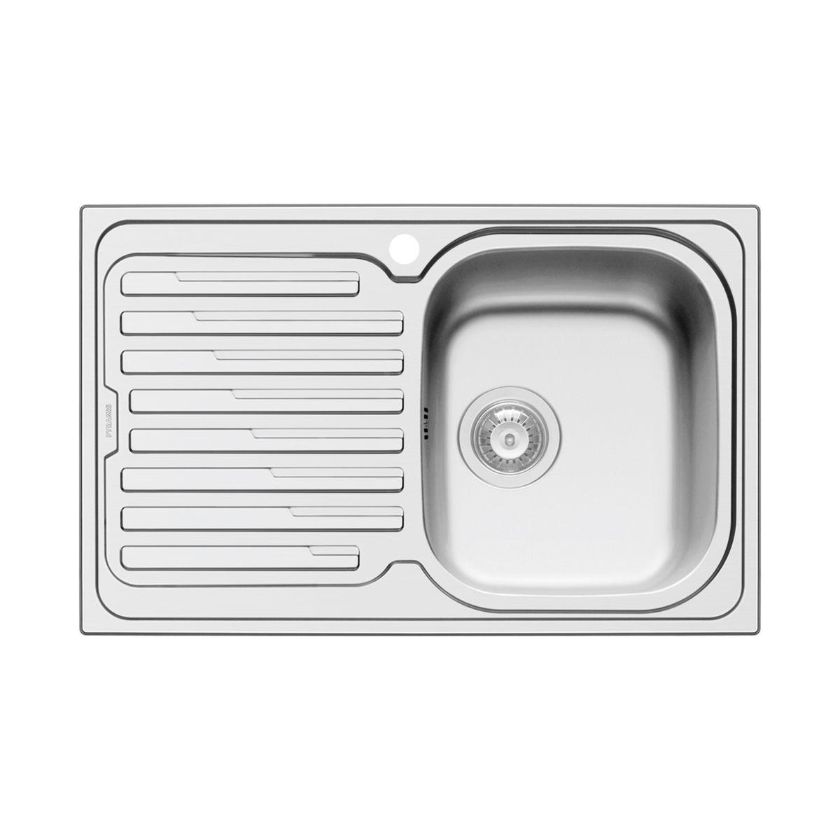 Emejing misure lavello cucina una vasca ideas ideas - Lavandino incasso cucina ...
