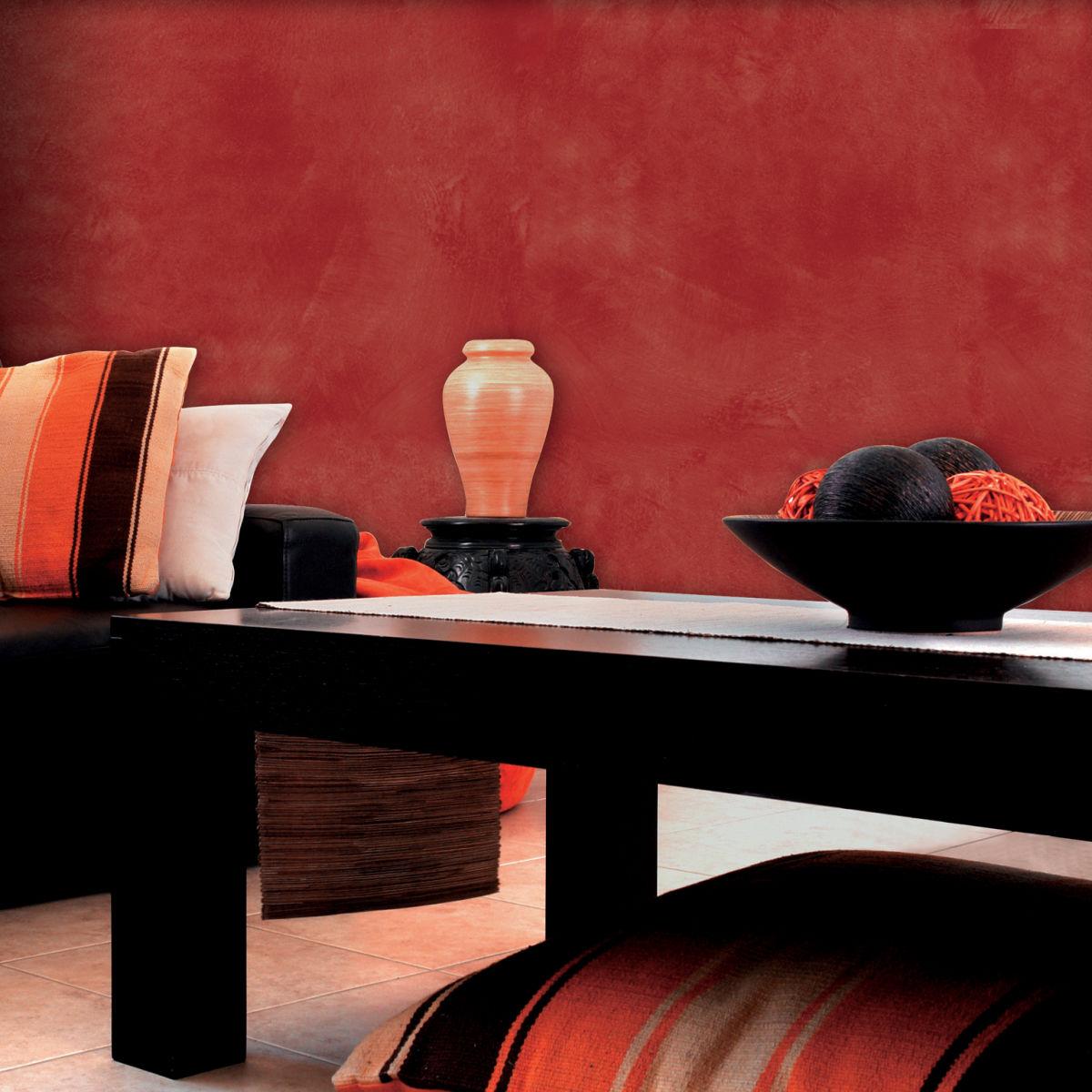 per effetto decorativo velatura ossido rosso l with pittura per interni colori. Black Bedroom Furniture Sets. Home Design Ideas
