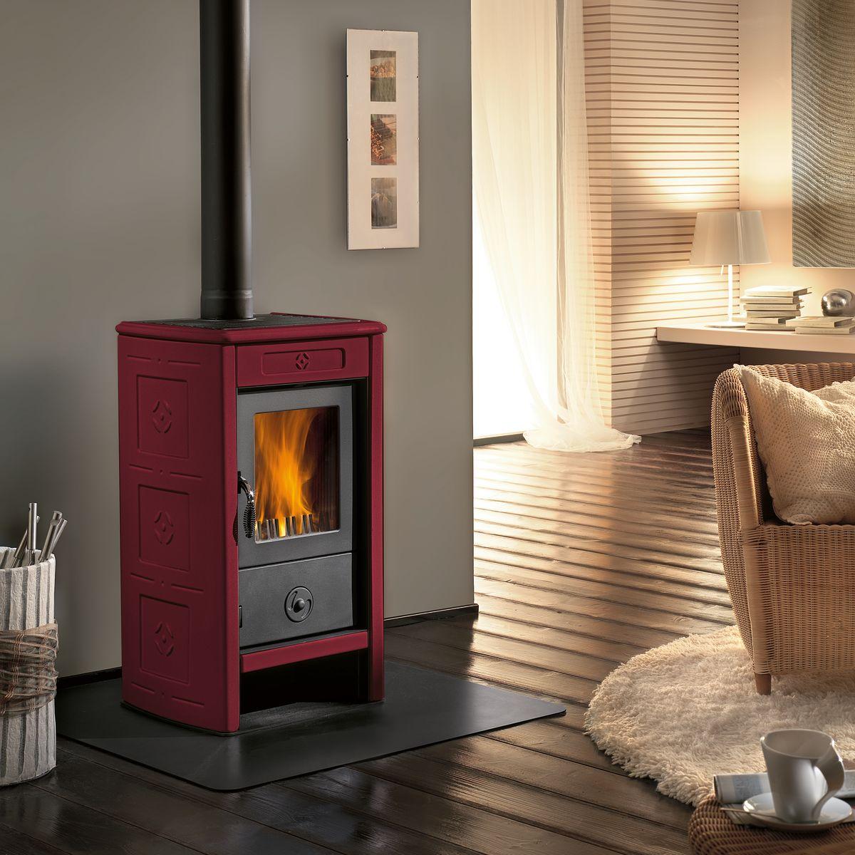 Stufa a legna per termosifoni cheap image with stufa a legna per termosifoni elegant lilia - Stufa a legna per termosifoni ...