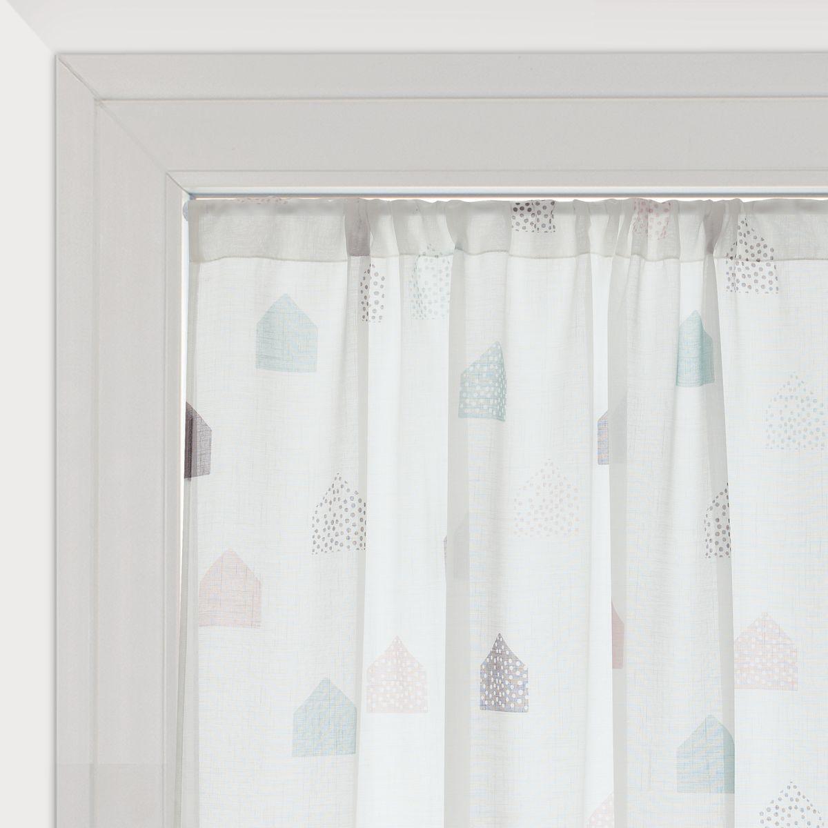 Tendine a vetro coppia tendine a vetro per finestra fancy - Pellicola oscurante vetri casa leroy merlin ...