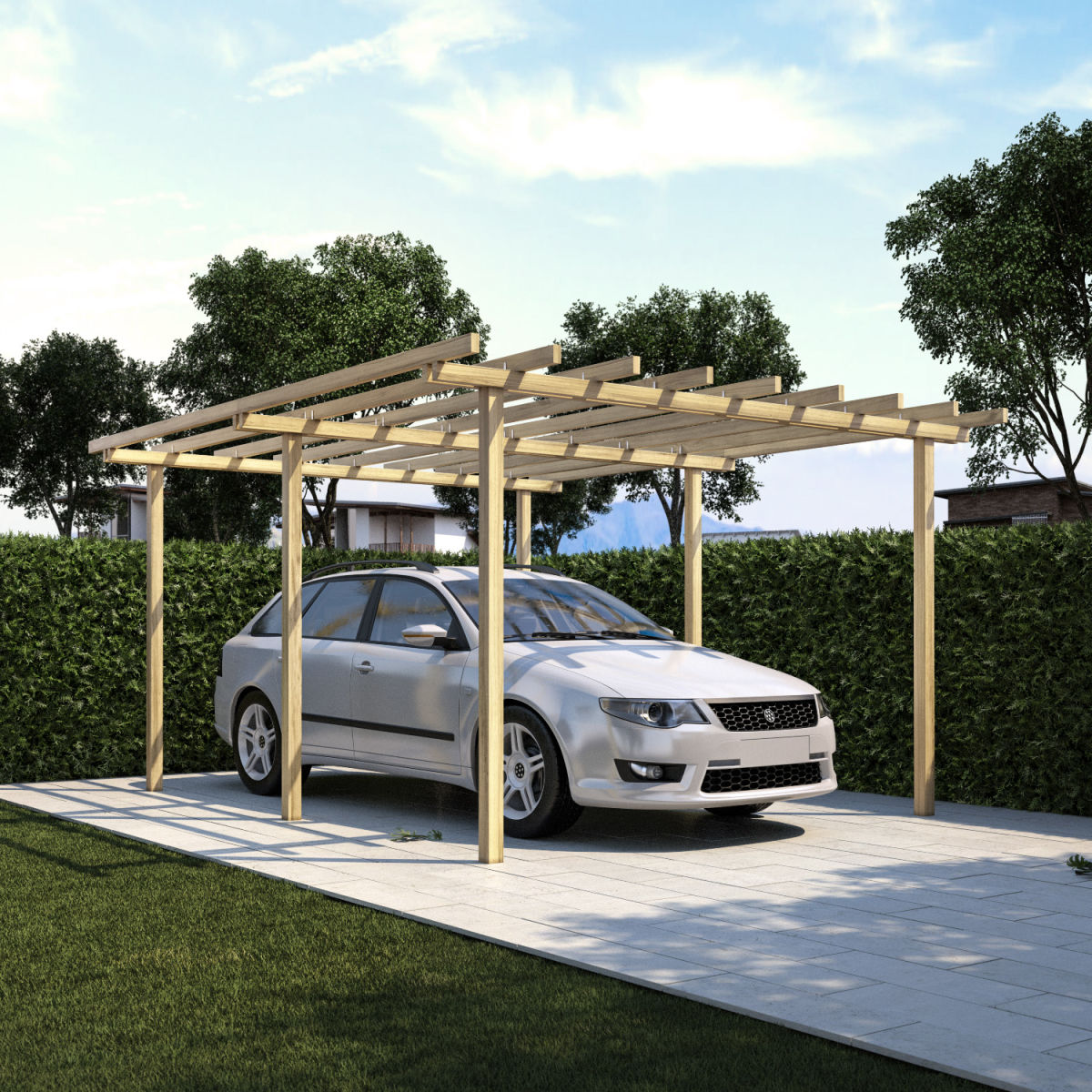 Good giardino e firenze x m with coperture mobili per auto - Garage mobile per auto ...