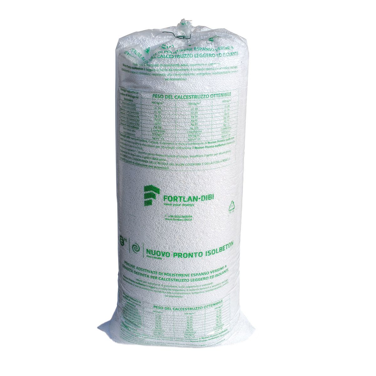 Sacco polistirolo fortlan 0 12 m prezzi e offerte online for Stendibiancheria leroy merlin
