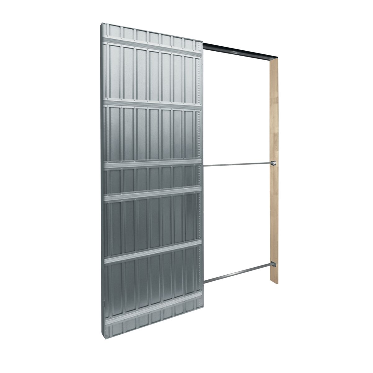 Controtelaio porta scorrevole Top Slide per cartongesso 100 x 210 ...