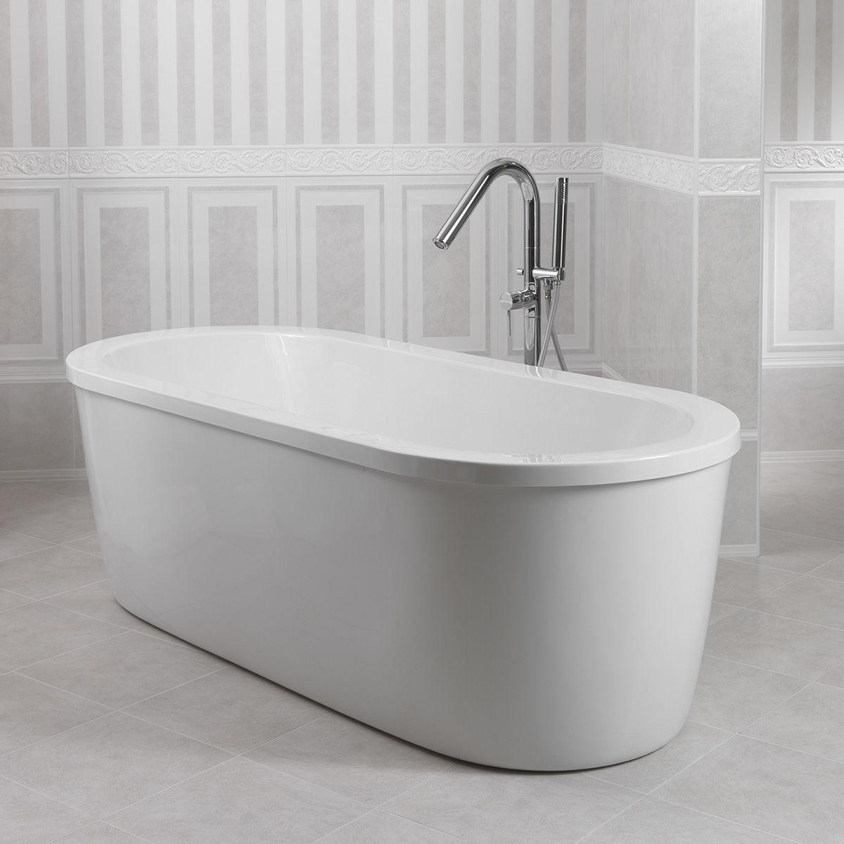Vasca centro stanza loft 180 x 80 cm prezzi e offerte online - Pareti vasca da bagno prezzi ...