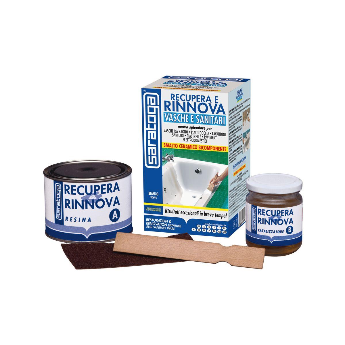 kit di riparazione recupera e rinnova sanitari saratoga bianco brillante 0375 l prezzi e offerte online
