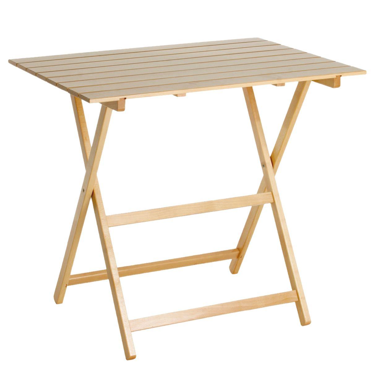 Tavolo legno quadrato giardino - Tavolo in legno pieghevole ...
