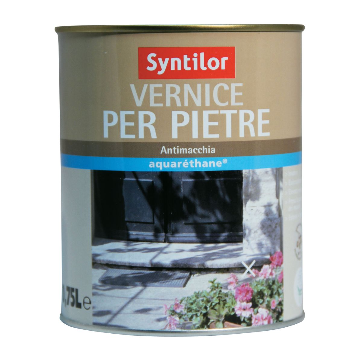 Vernice per pietre syntilor trasparente opaco 0 75 l for Stendibiancheria leroy merlin