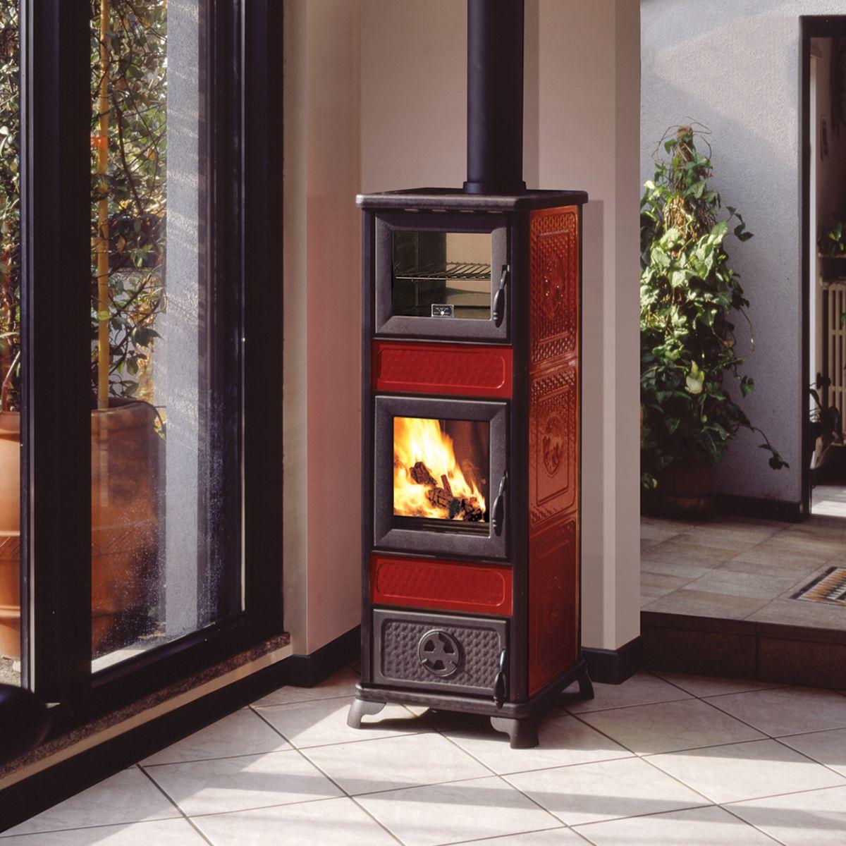 Stufe a pellet per termosifoni prezzi great termostufa compatta modello emma di ariel energia - Stufe a pellet termosifoni ...