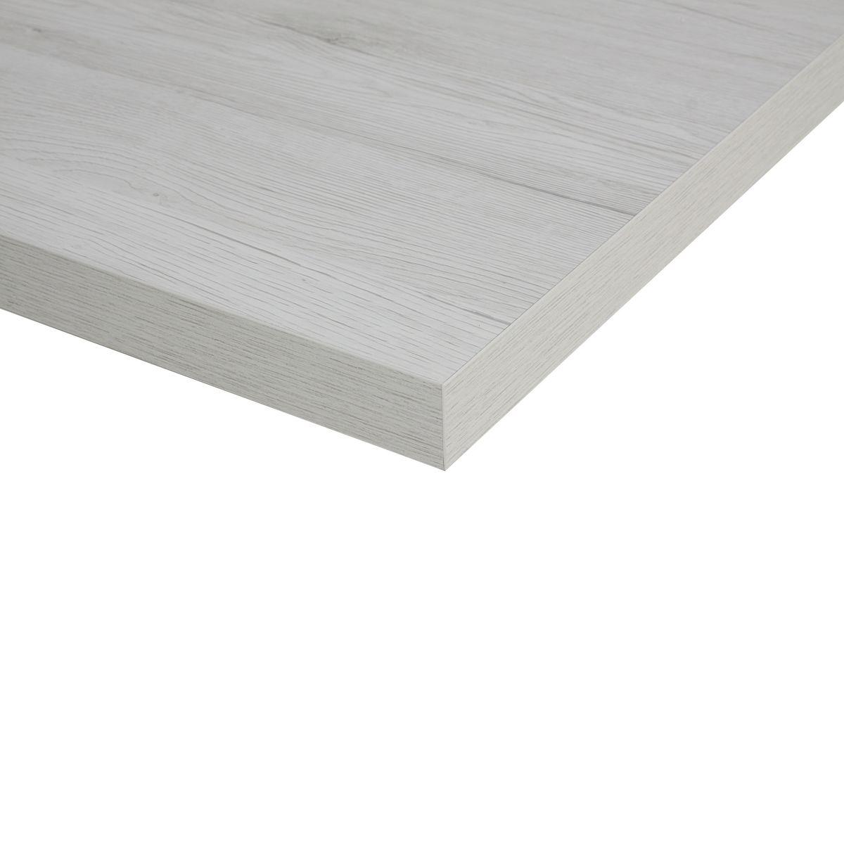 Piano cucina su misura laminato bianco rovere 2 cm prezzi e offerte online - Cucina su misura prezzi ...