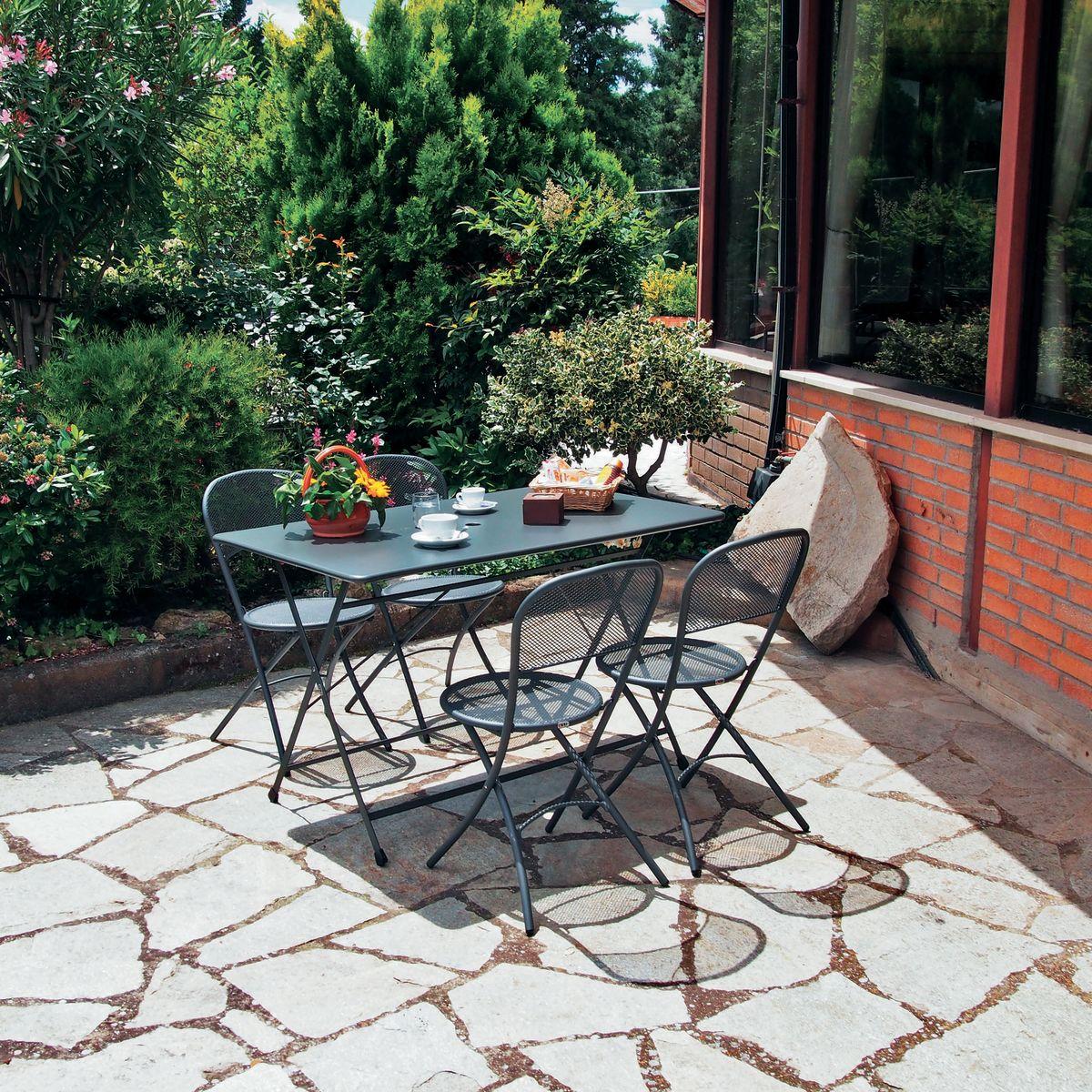 Tavoli giardino offerte set bistrot tavolo ombrellone e for Auchan dondolo da giardino