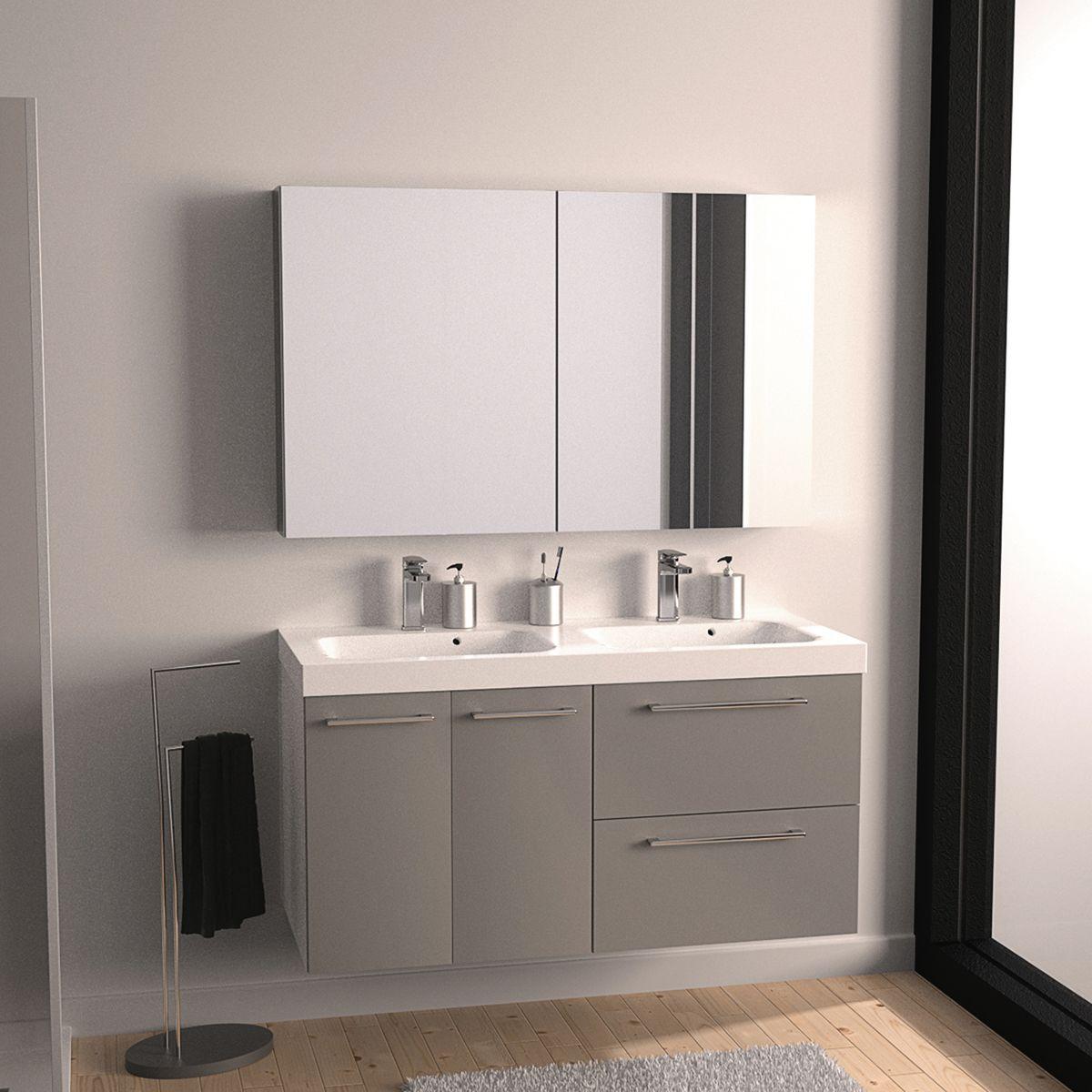 Prezzi arredo bagno mobili bagno sospesi stunning related for prezzi arredo bagno mobili bagno for Mobili bagno con due lavabi