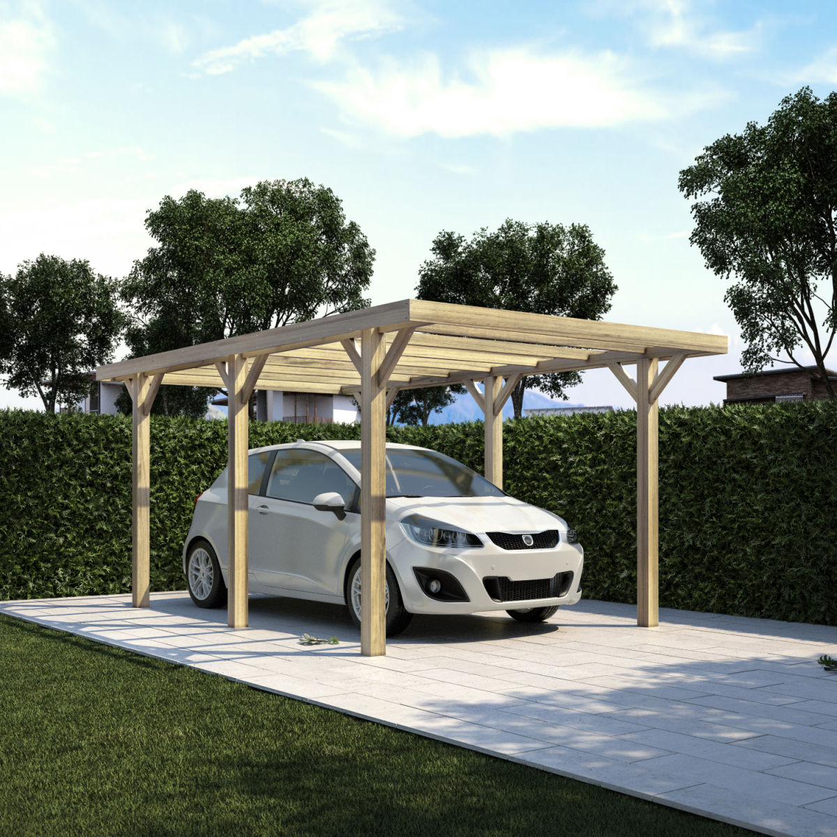 Stunning giardino e firenze x m with coperture mobili per auto for Generatore hyundai leroy merlin