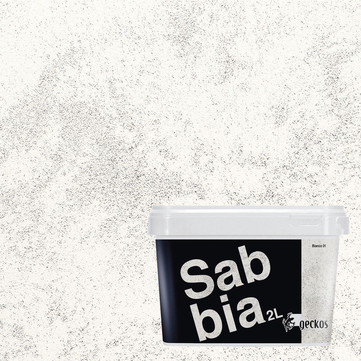 Ad effetto decorativo sabbiato bianco l with pittura pareti for Pittura con brillantini leroy merlin