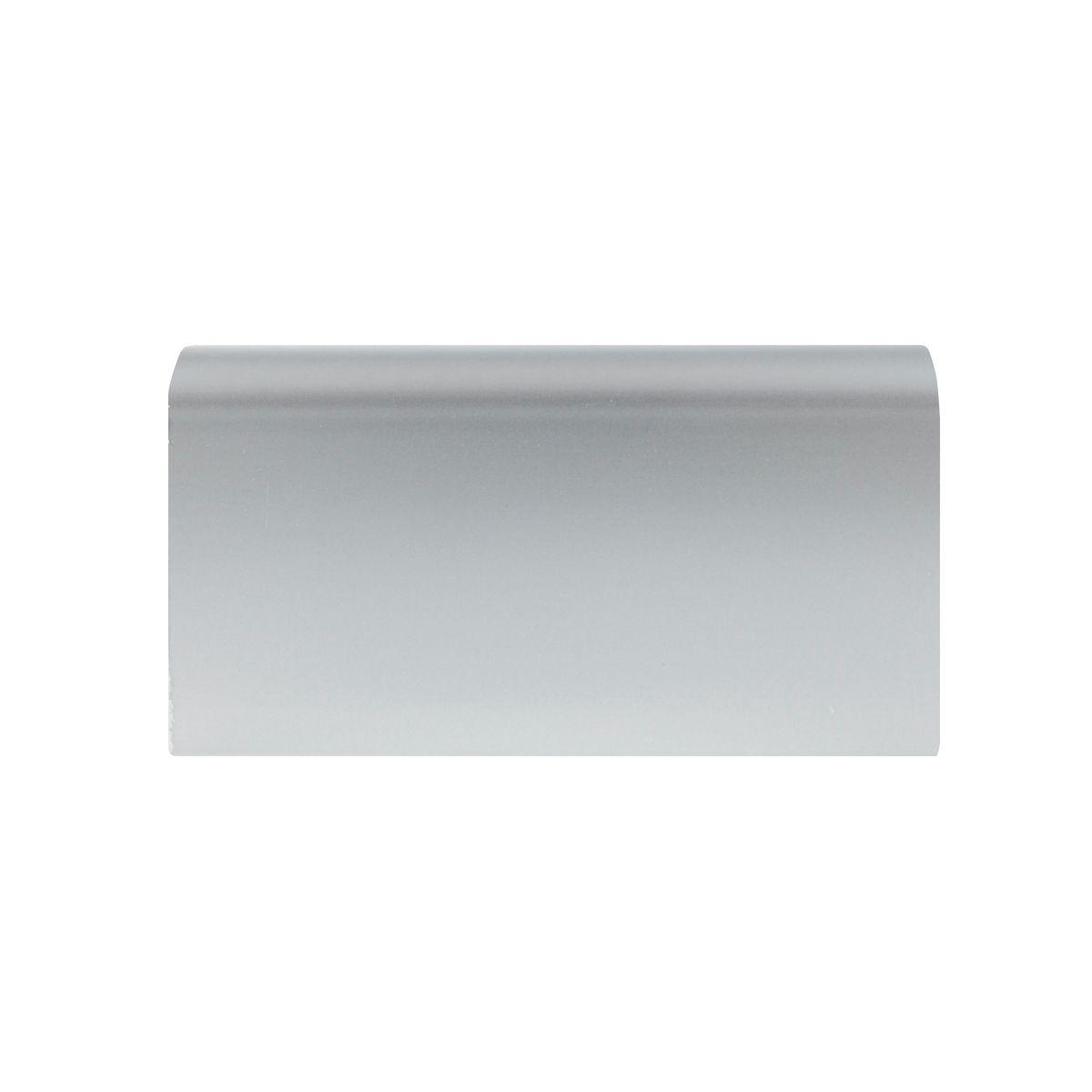 Battiscopa passacavo plus alluminio 15 x 80 x 2000 mm for Battiscopa leroy merlin