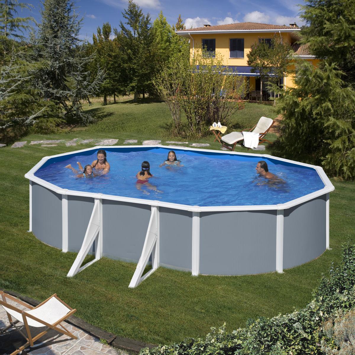 Piscina ovale kitadeo 500 x 300 cm prezzi e offerte online for Arena piscina leroy merlin