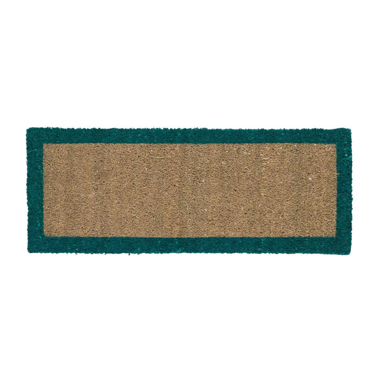 Zerbino bordo verde 25 x 50 cm prezzi e offerte online for Copriwater leroy merlin