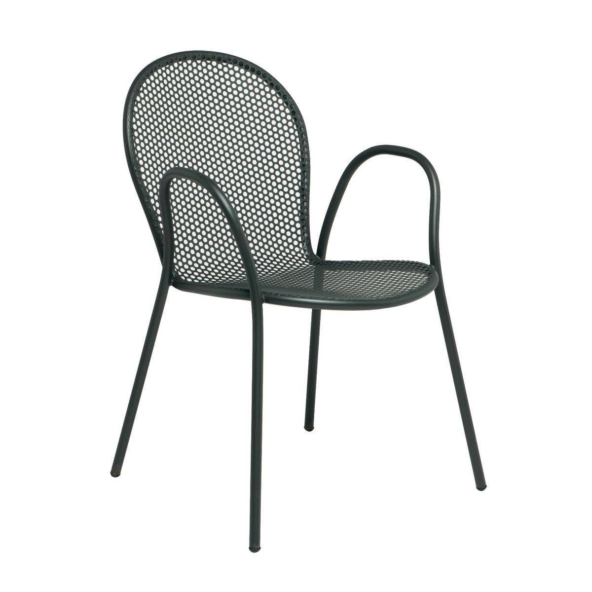 Sedia impilabile pavesino grigio antracite prezzi e for Erba sintetica prezzi leroy merlin