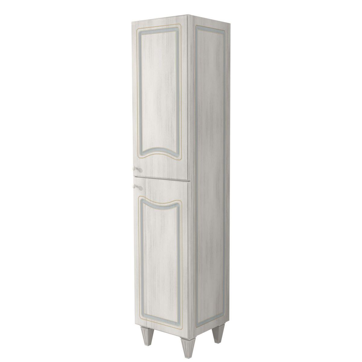 colonna caravaggio bianco 2 ante l 40 x h 182 x p 36 cm: prezzi e ... - Arredo Bagno Caravaggio