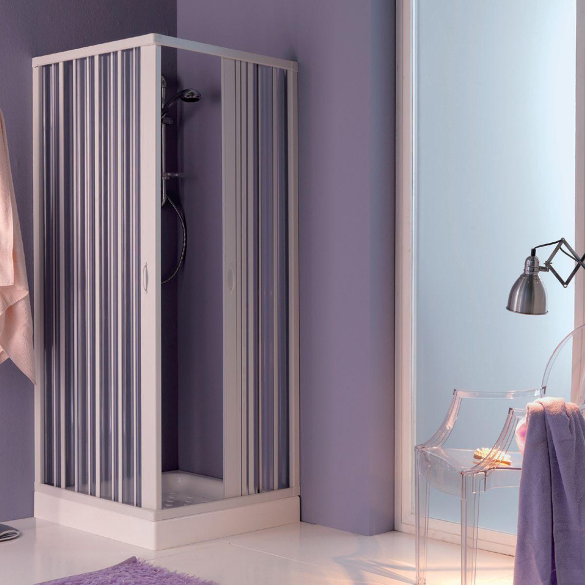 Leroy merlin porte a soffietto porta doccia a soffietto - Box doccia con tenda ...