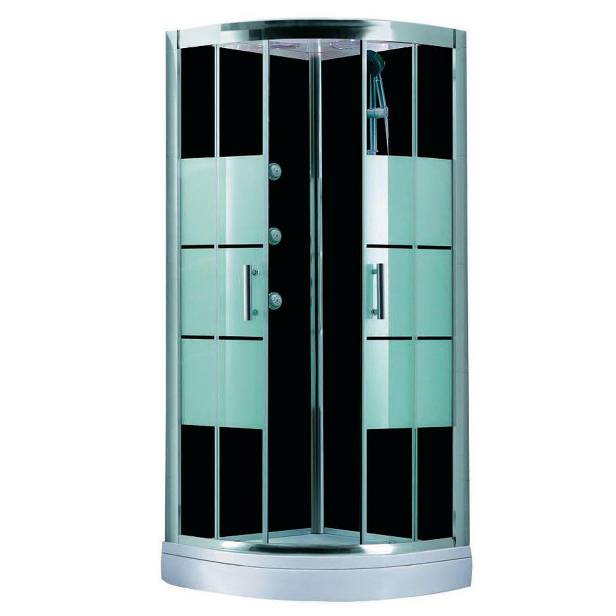 Cabina idromassaggio sensea 90 x 90 cm prezzi e offerte - Cabina doccia leroy merlin ...