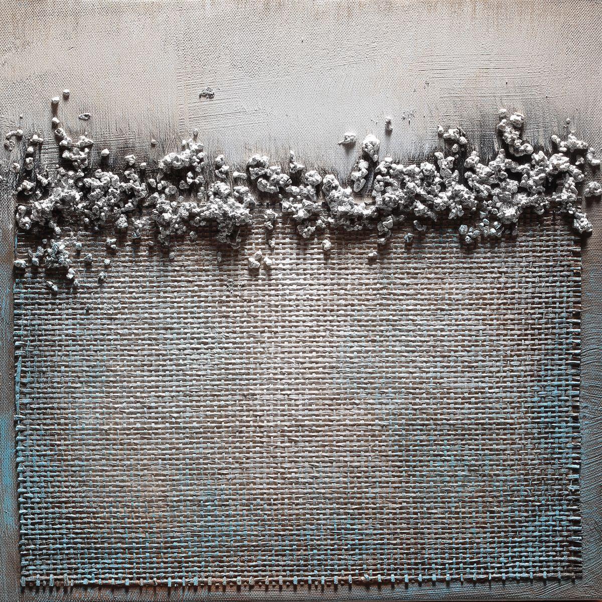 Awesome quadri astratti materici gallery acrylicgiftware for Cornici piccole bianche
