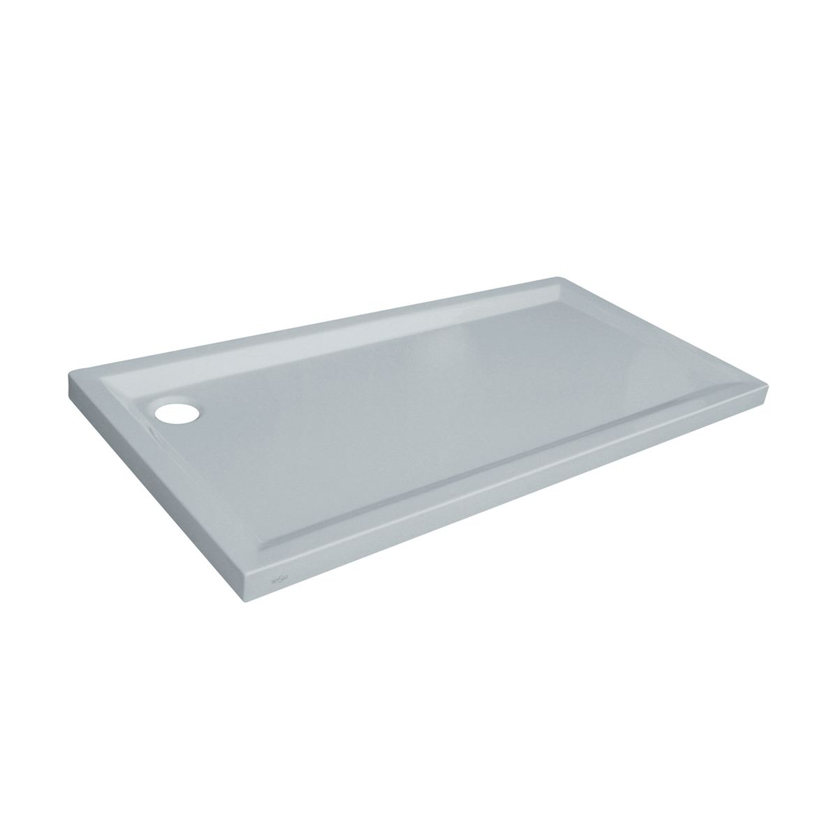 Piatto doccia acrilico houston 170 x 70 cm bianco prezzi for Copriwater leroy merlin