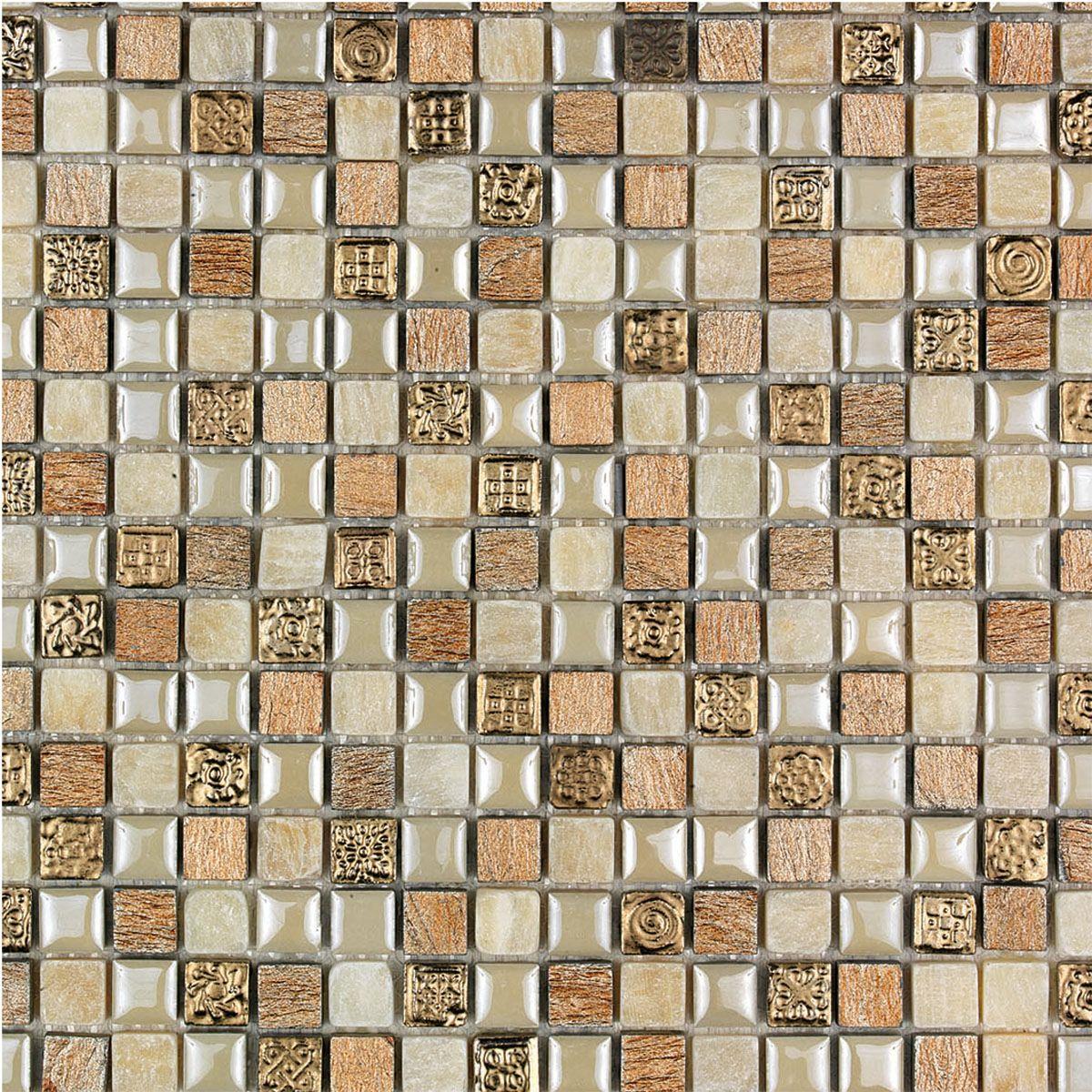 bagno mosaico dorato ~ Comarg.com = Lussuoso Design del Bagno con ...