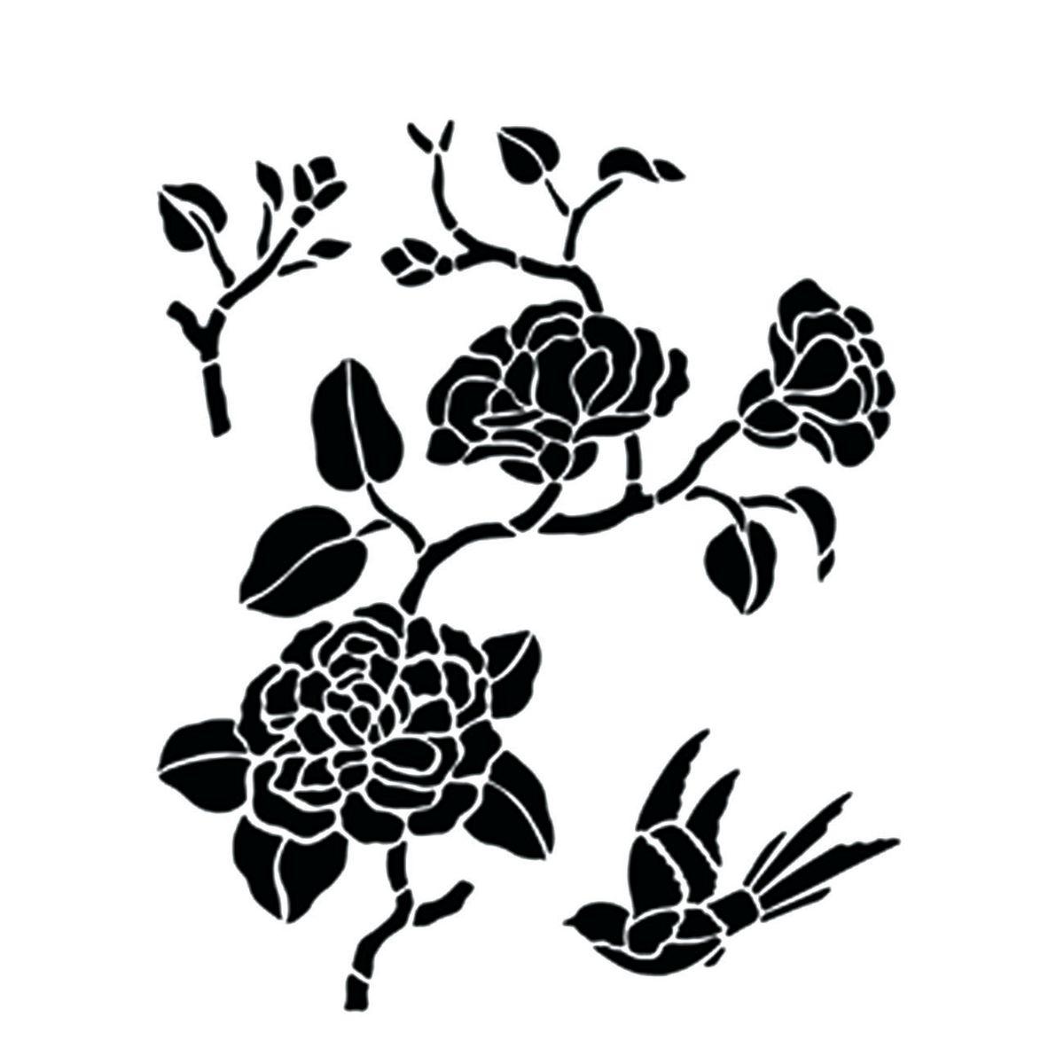 Stunning stencil da stampare per cucina gallery ideas for Stencil per pareti leroy merlin