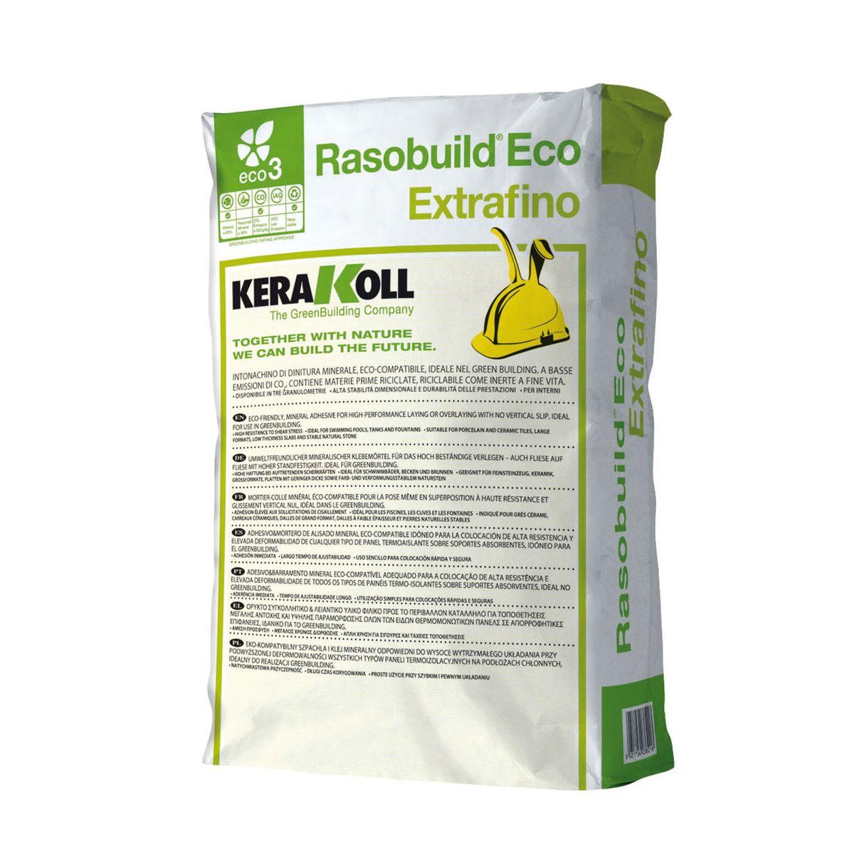 Rasante rasobuild extrafino kerakoll 20 kg prezzi e for Leroy merlin copriwater