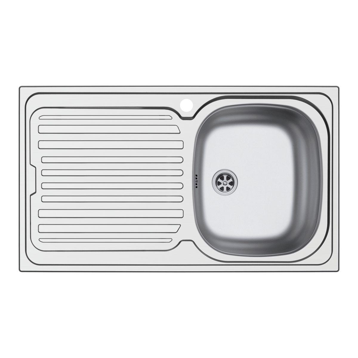 Emejing misure lavello cucina una vasca ideas ideas - Lavelli cucina da appoggio ...