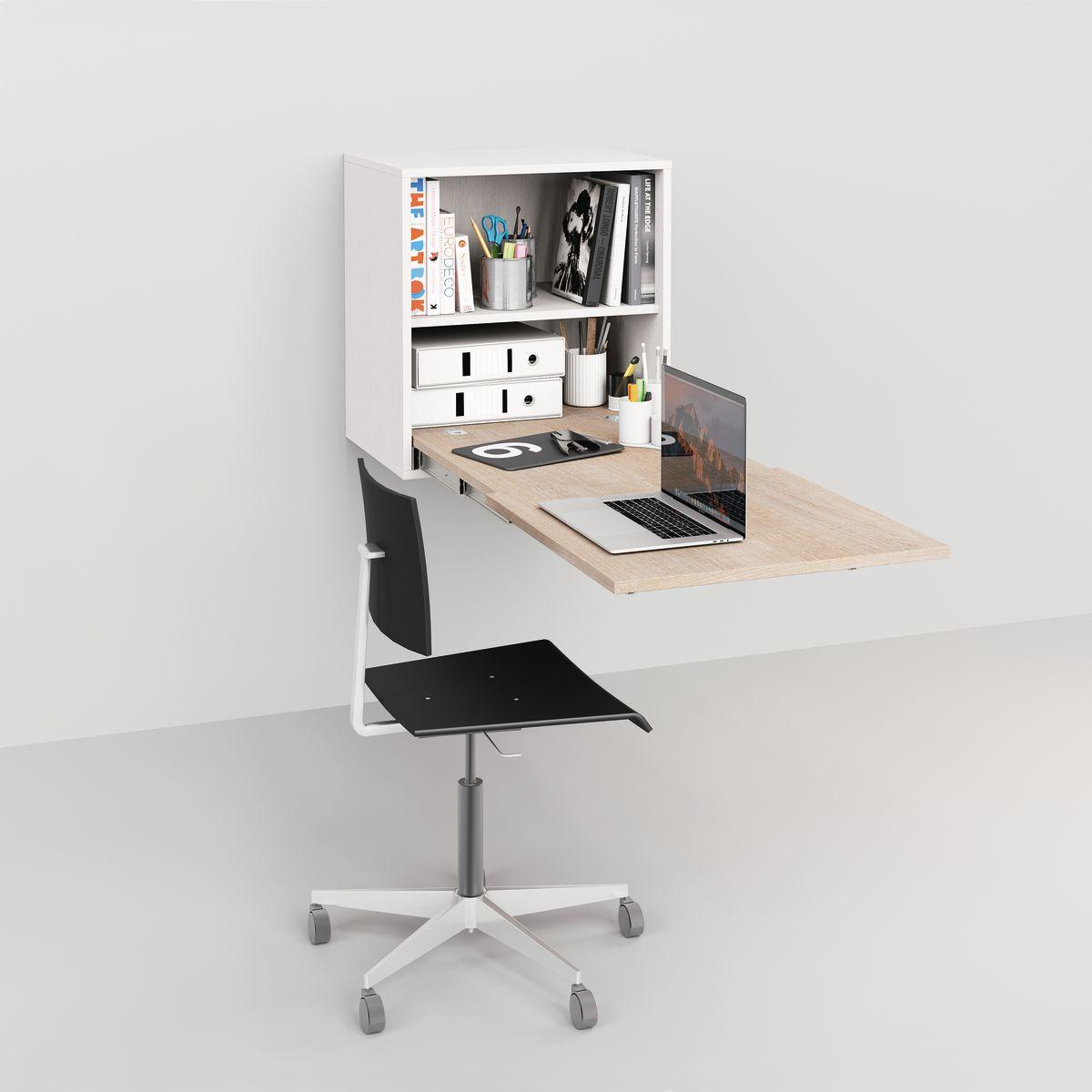 scrivania a scomparsa computer fx92 pineglen