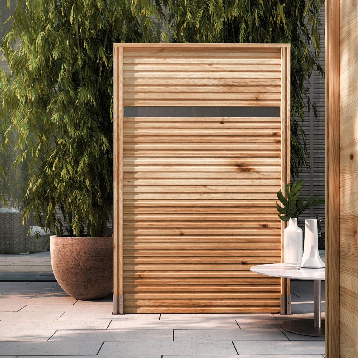 Emejing paravento da esterno gallery for Divisori da giardino