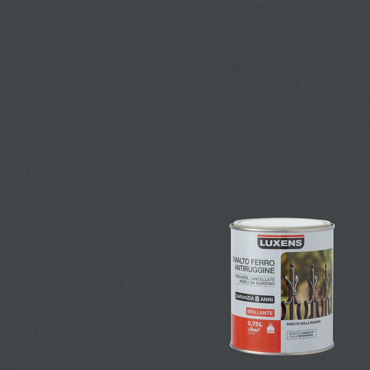 Charming Smalto Per Ferro Antiruggine Luxens Grigio Zincato 1 Brillante 0,75 L:  Prezzi E Offerte Online