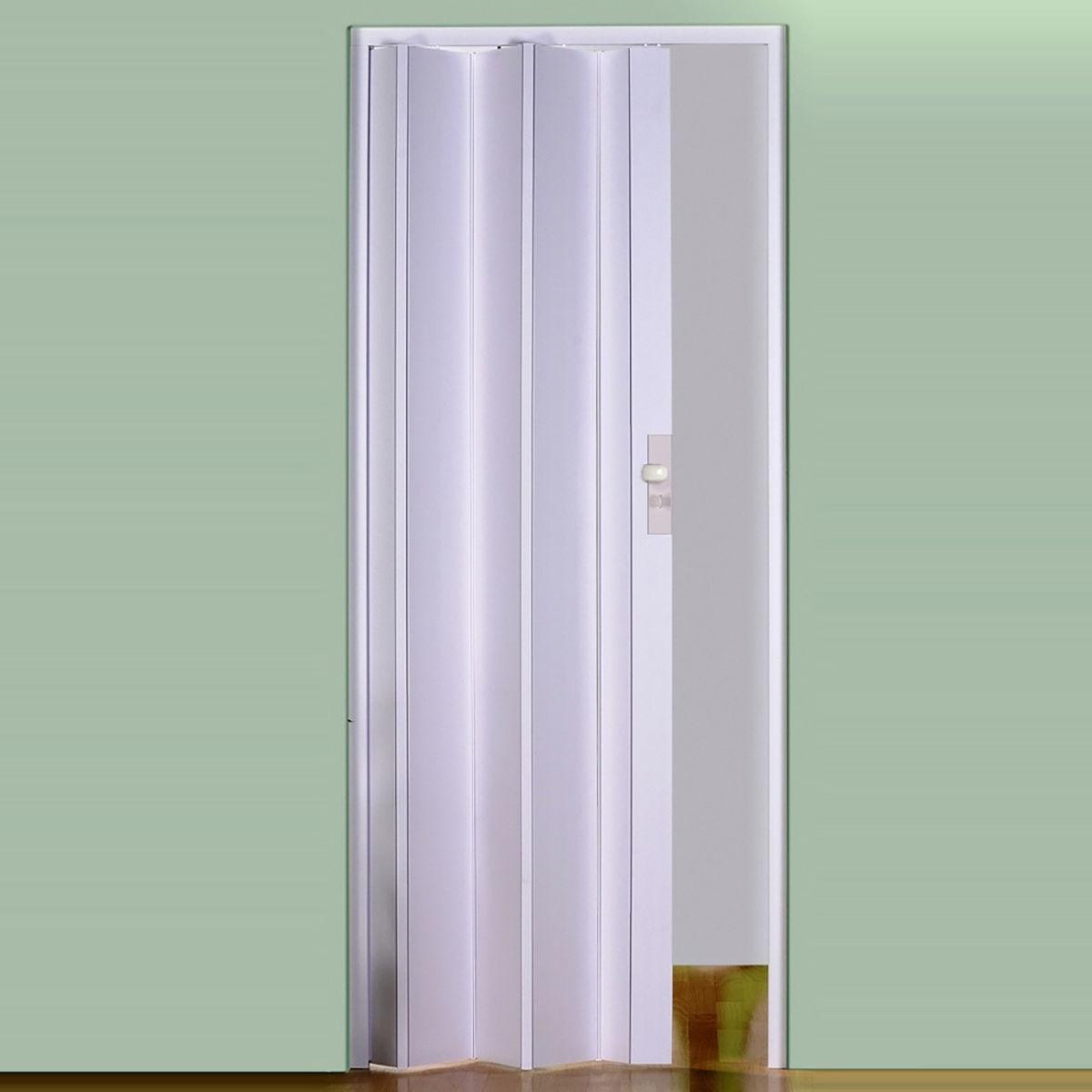 Porta a soffietto maya bianco l 83 x h 214 cm prezzi e for Ricambi zanzariere leroy merlin