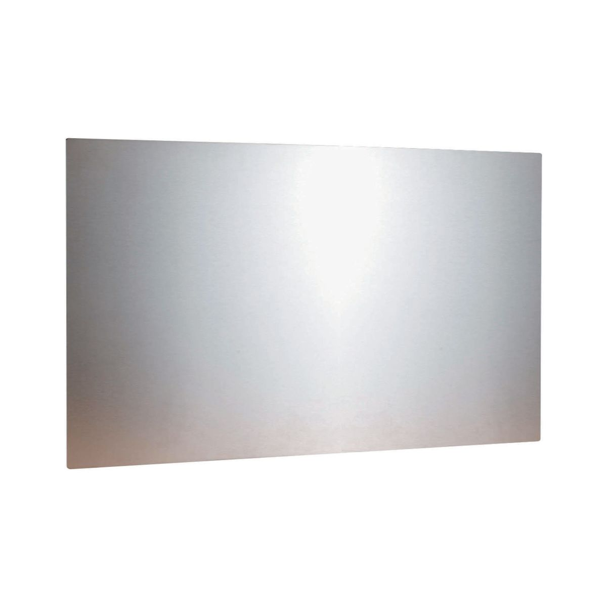 Pannello retrocucina acciaio inox l 90 x h 50 cm prezzi e for Leroy merlin copriwater