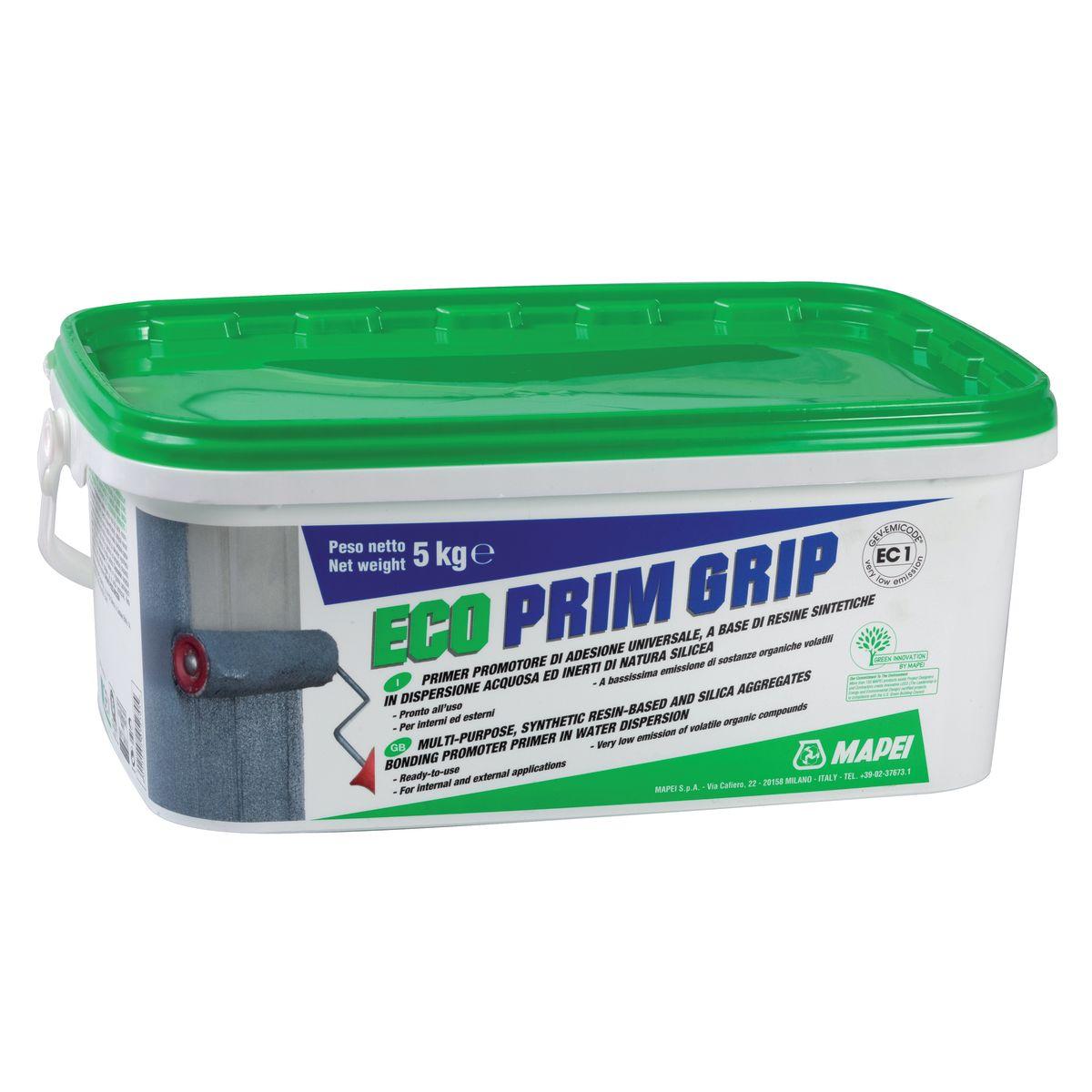 Aggrappante universale Eco Prim Grip Mapei grigio 5 kg: prezzi e ...
