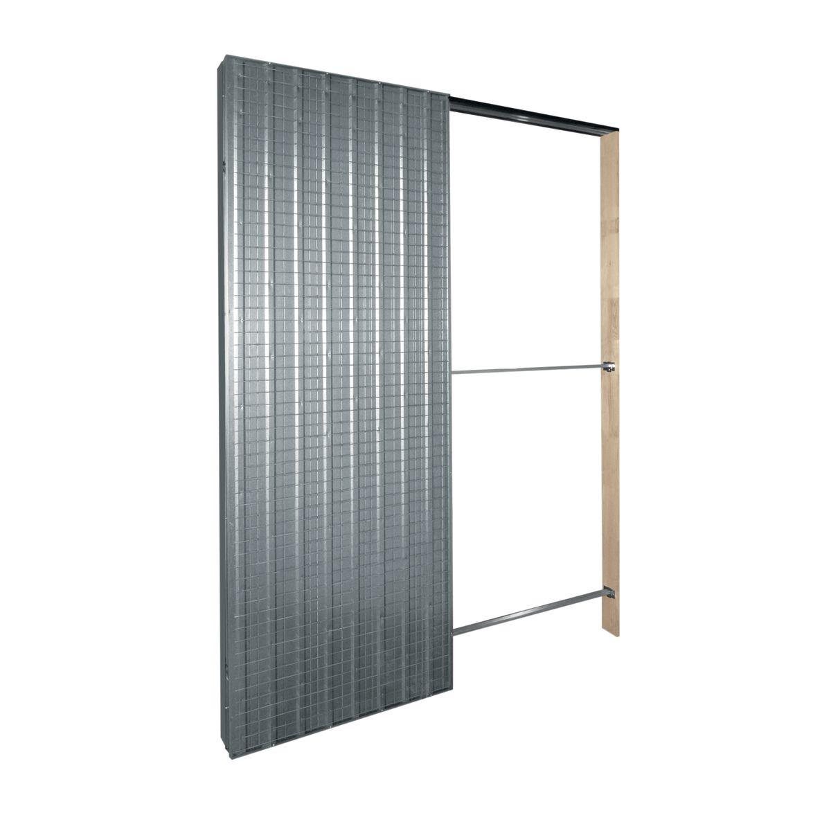 Controtelaio porta scorrevole Top Slide per intonaco 70 x 210 cm ...