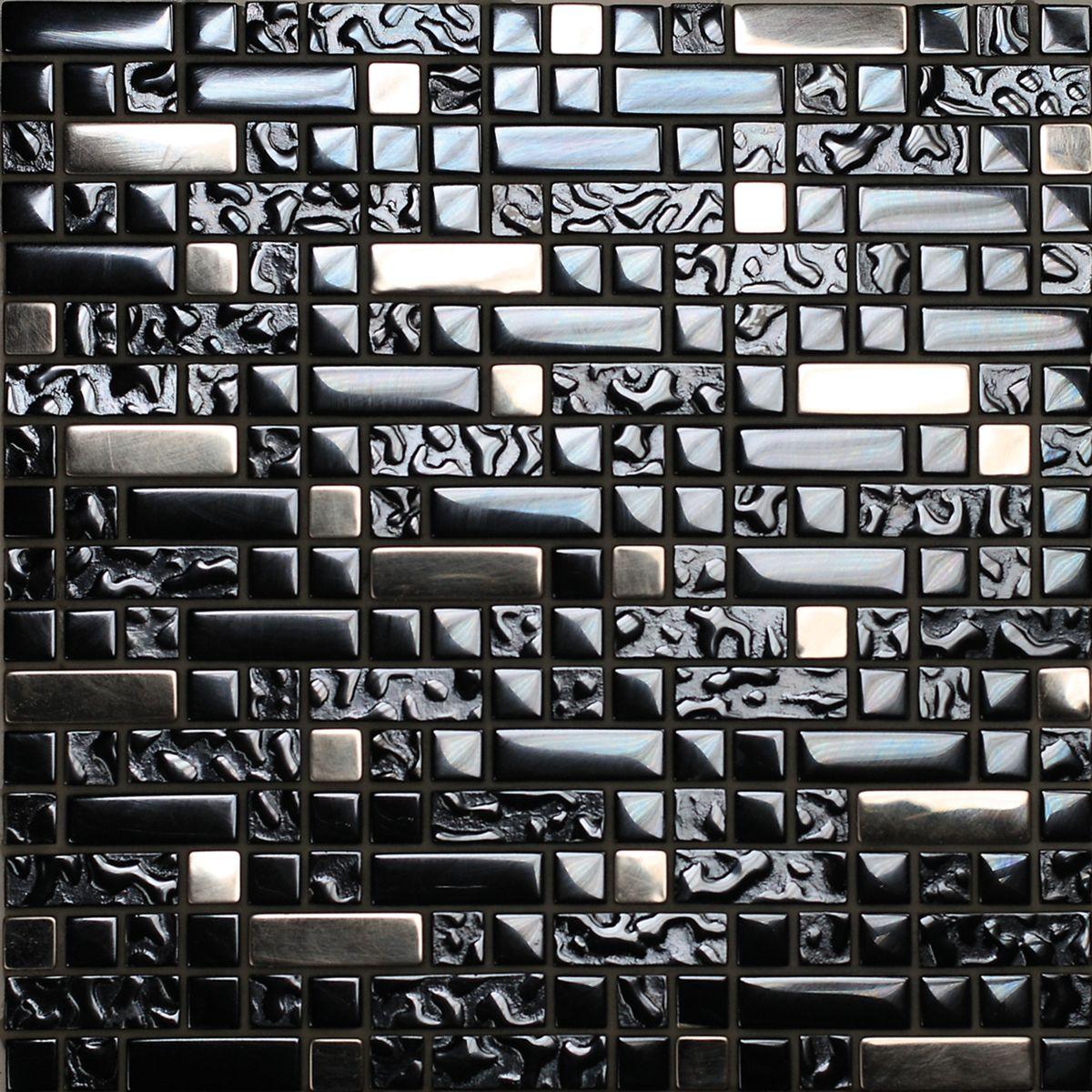 Mosaico City 33,5 x 29 cm nero, argento, oro: prezzi e offerte online