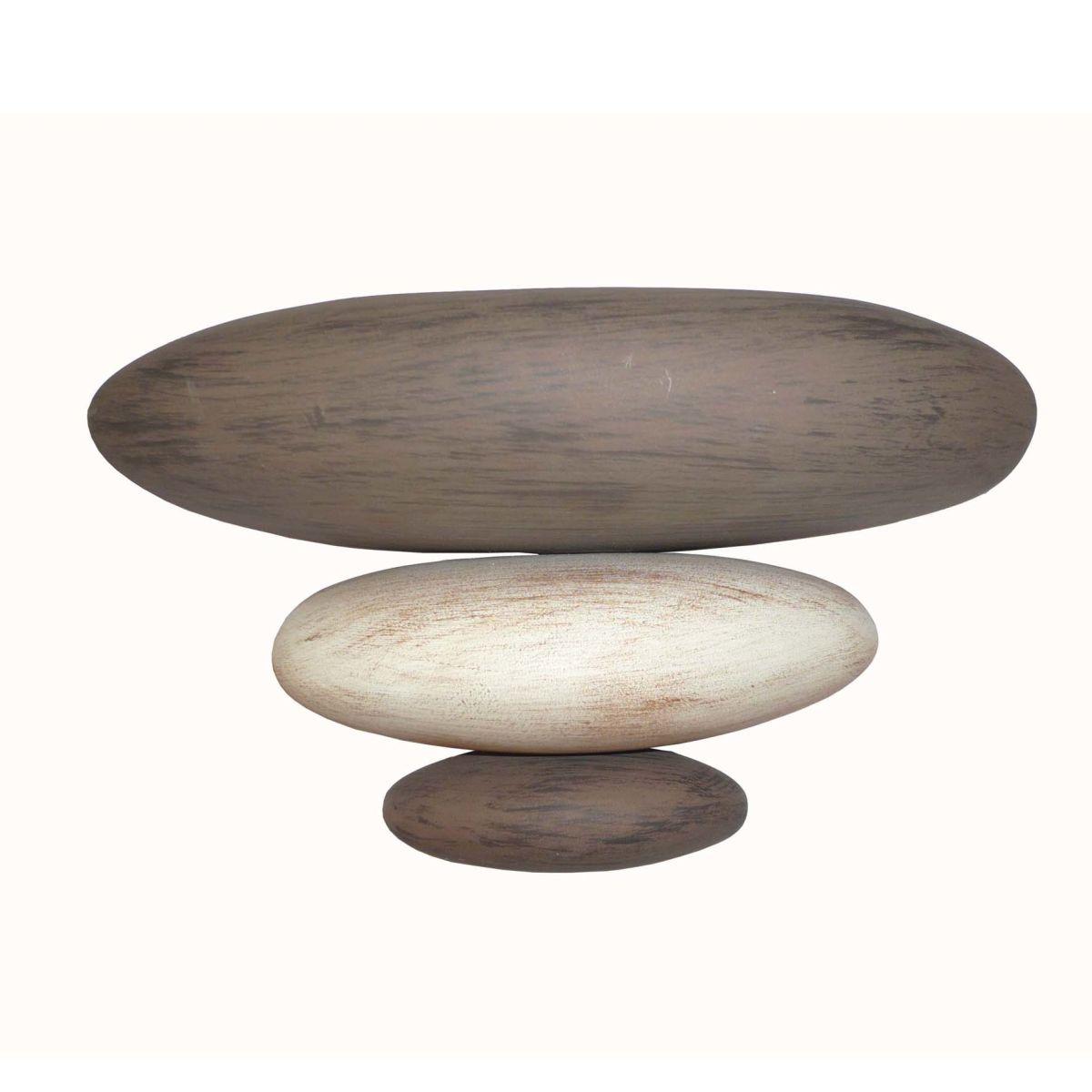 Applique sassi marrone l 24 x h 15 cm prezzi e offerte online for Ciottoli da giardino leroy merlin