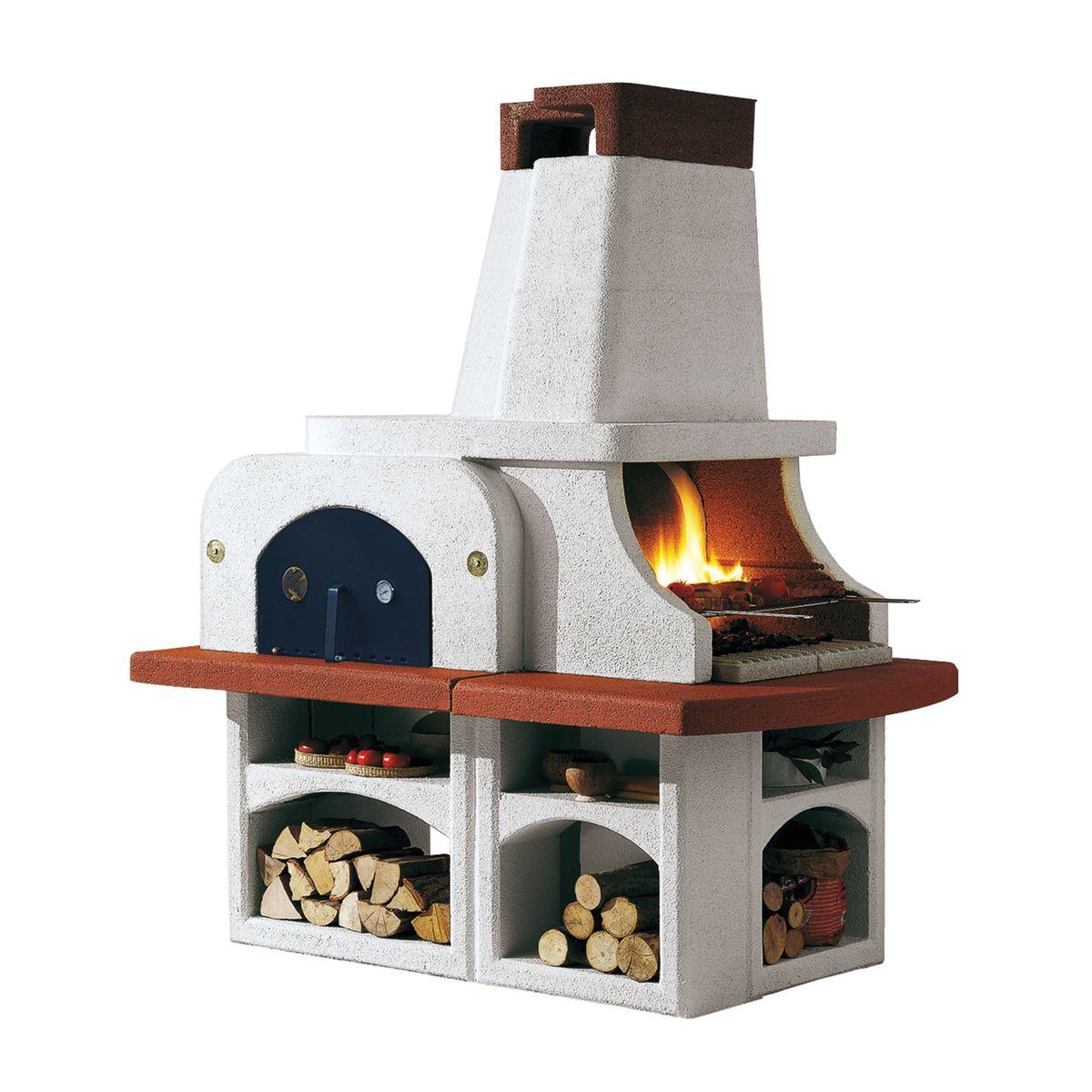 idee per costruire barbecue e forno pizze in giardino. Black Bedroom Furniture Sets. Home Design Ideas