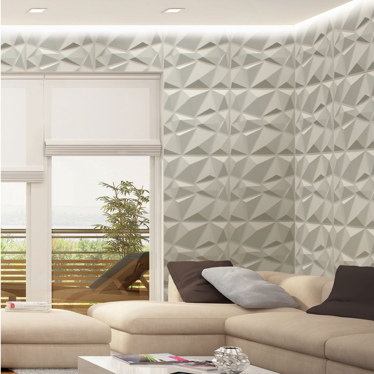 Rivestimento parete legno bianco ts36 regardsdefemmes - Rivestimento decorativo pareti ...