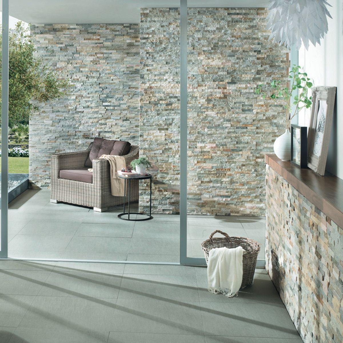 Rivestimento decorativo stonehenge beige prezzi e offerte for Tralicci leroy merlin