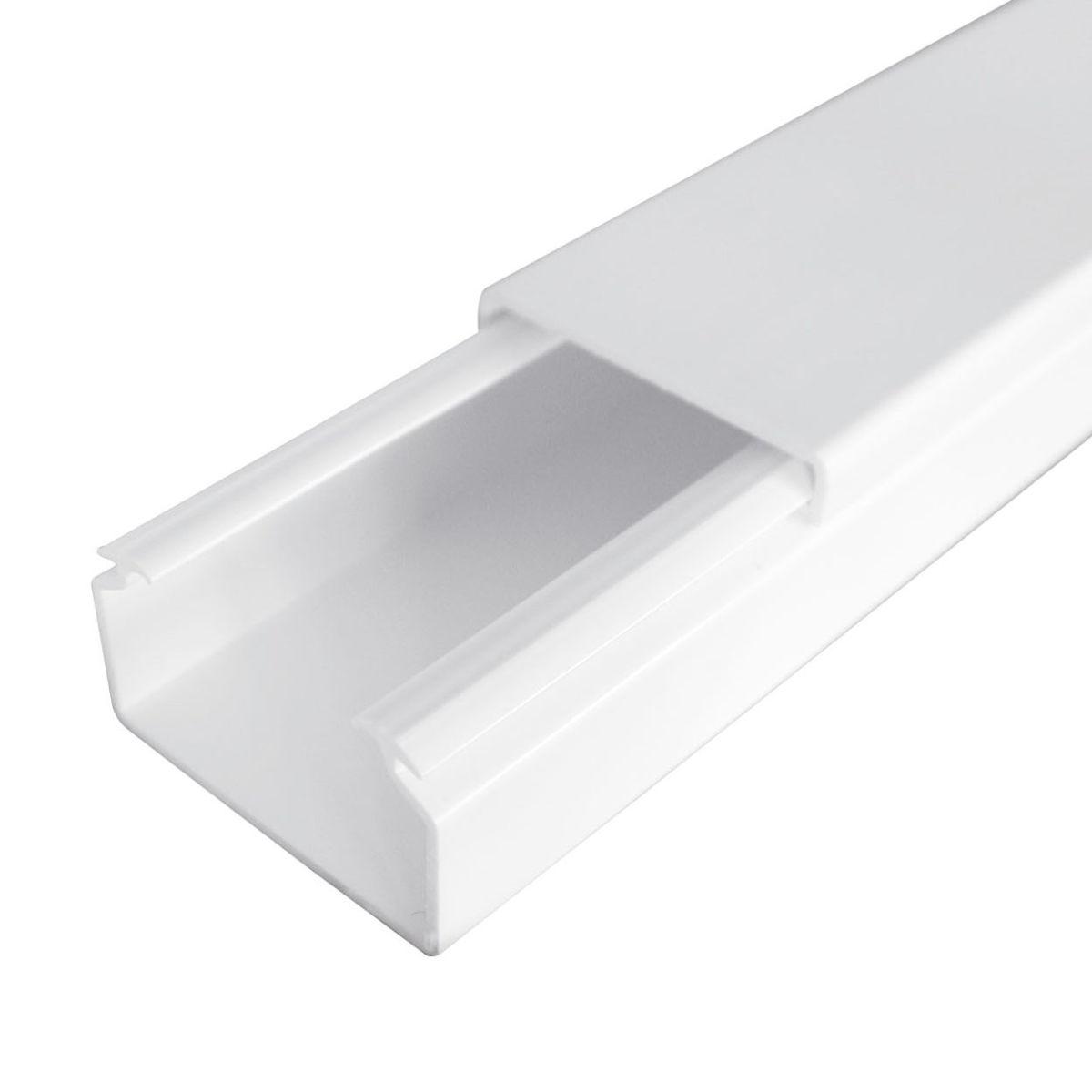 Minicanale per cablaggio 21 x 10 mm x l 2 m prezzi e for Leroy merlin copriwater