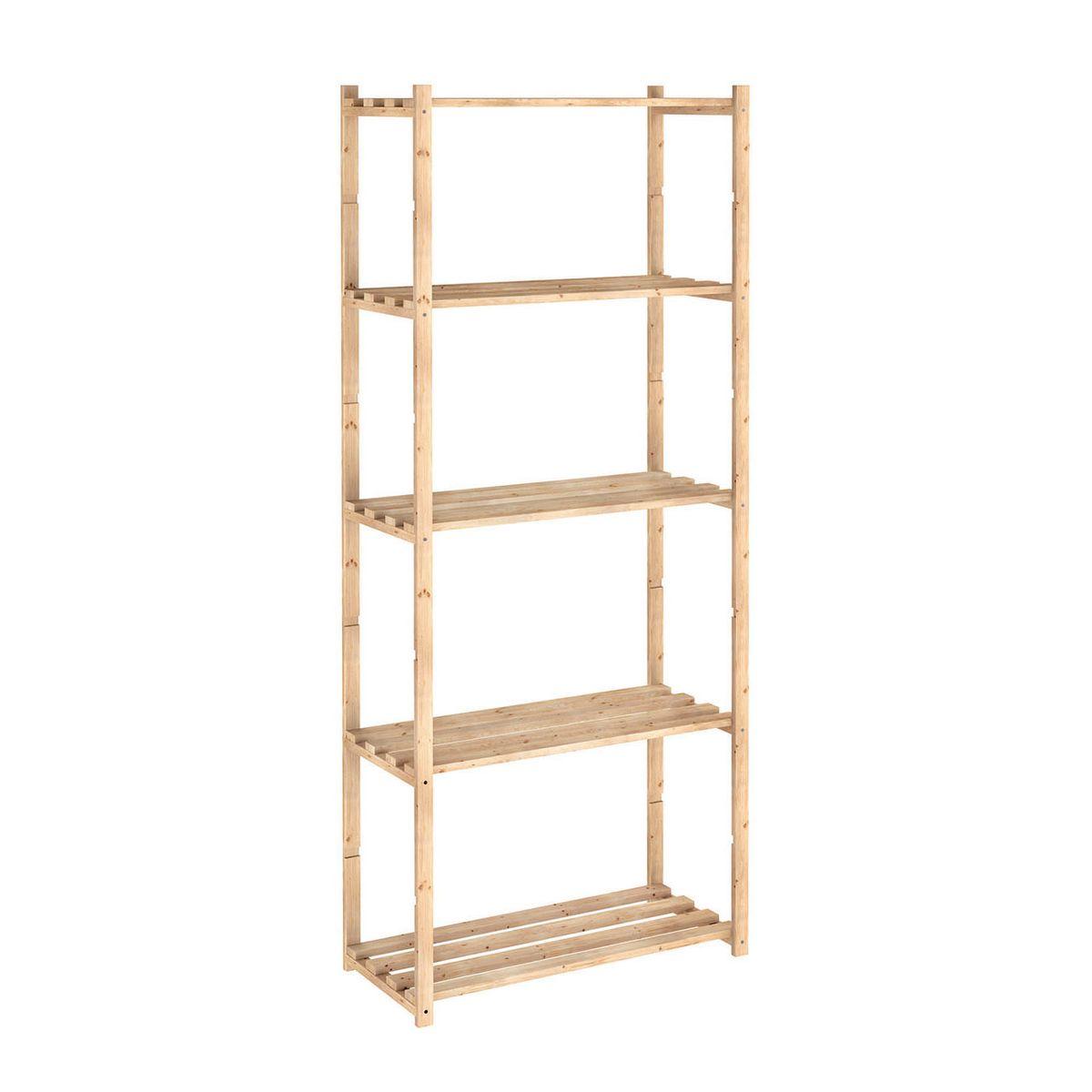 Scaffali ripostiglio affordable scaffale bamboo with for Ikea scaffali in metallo