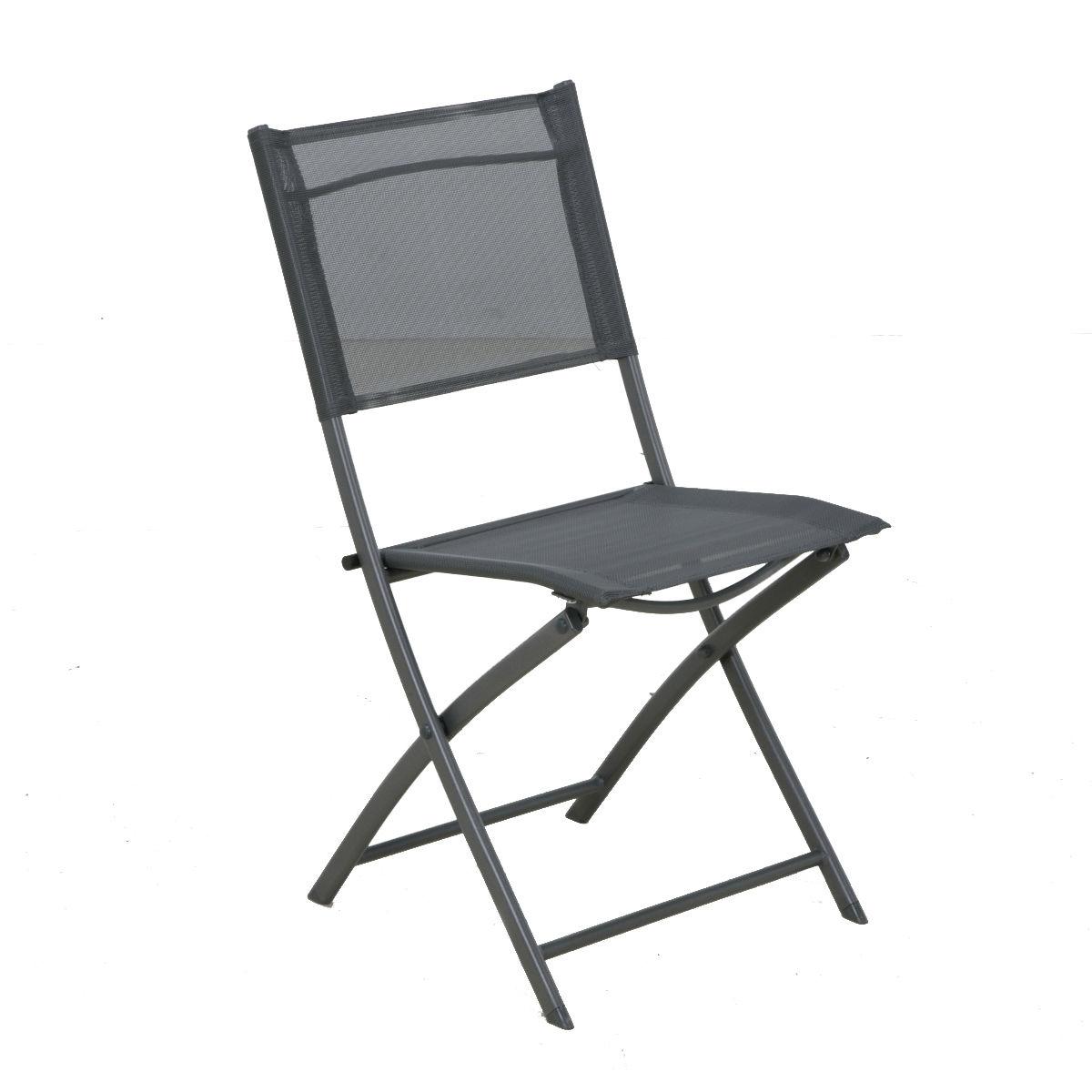 sedia pieghevole palma grigio prezzi e offerte online. Black Bedroom Furniture Sets. Home Design Ideas